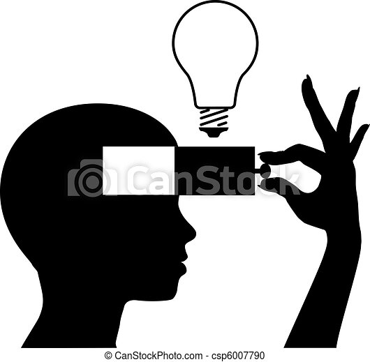 Um neue Ideenbildung zu lernen - csp6007790