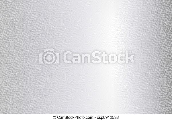 Vector gebürstet Metallblech - csp8912533