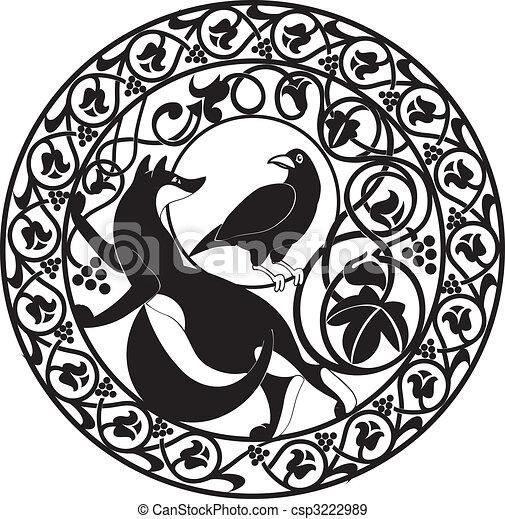 Vector_fox&crow - csp3222989