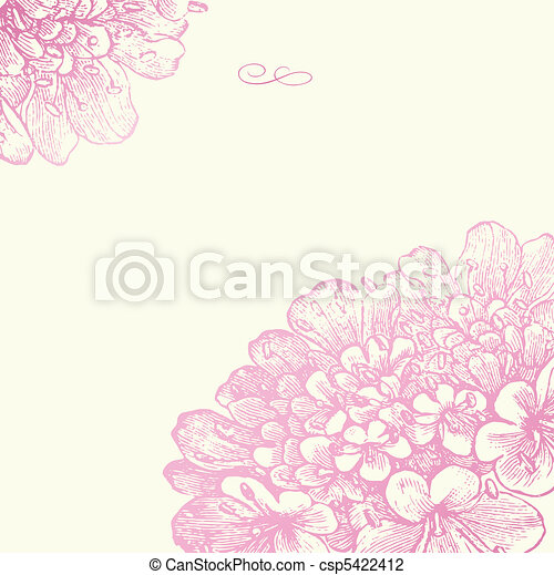 Vektor-Pink-Foralquadrat - csp5422412