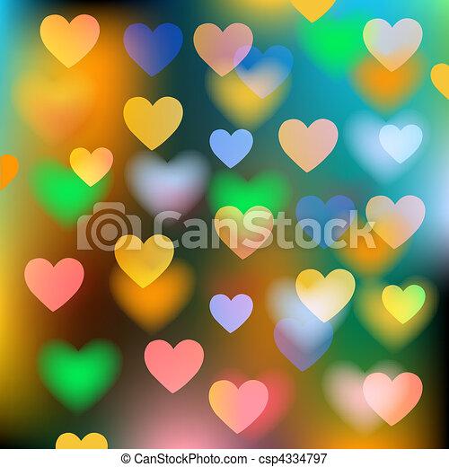 Vektoren-Hintergrund mit Herz deaktivieren - csp4334797