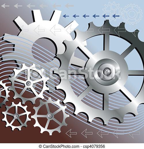 Vektormechanik - csp4079356