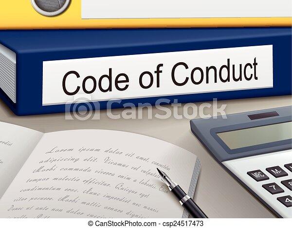 Verhaltenskodex. - csp24517473