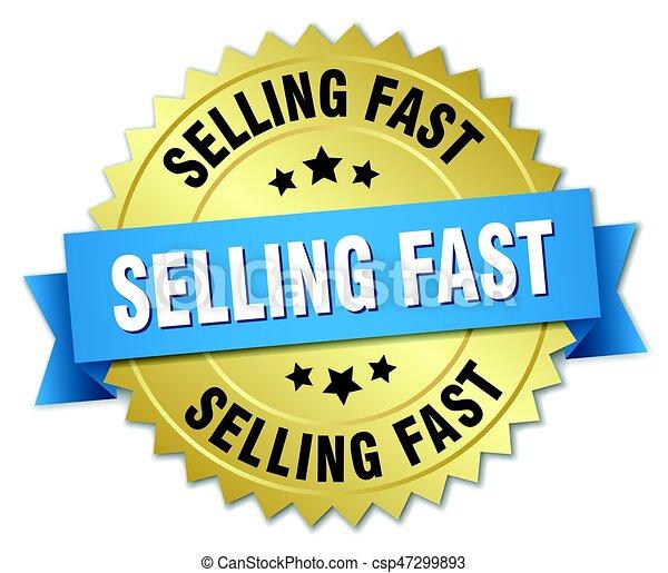 Verkauft fast rundes, abgelegenes Goldabzeichen. - csp47299893