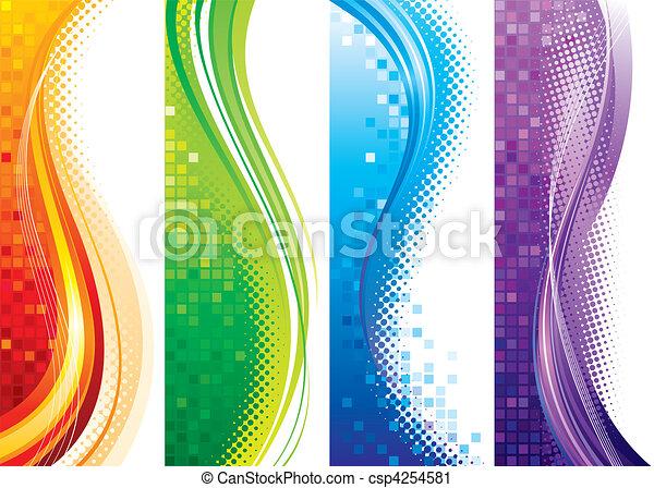 Vertikale Banner - csp4254581