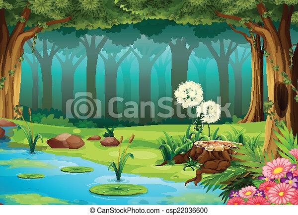 Wald. - csp22036600