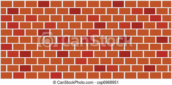 Wall Illustration. - csp6968951