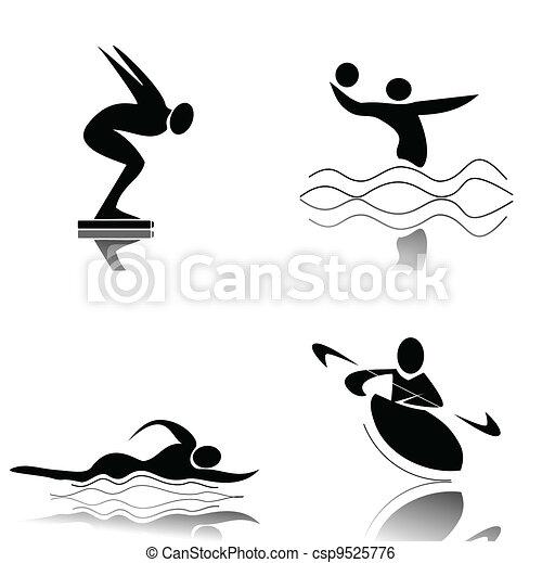Wassersport - csp9525776