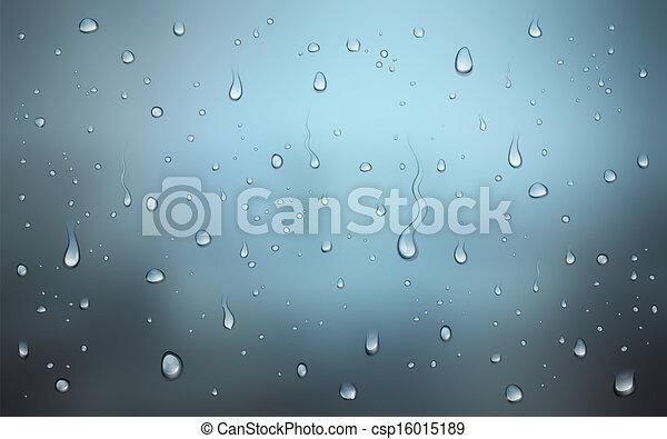 Wassertropfen - csp16015189