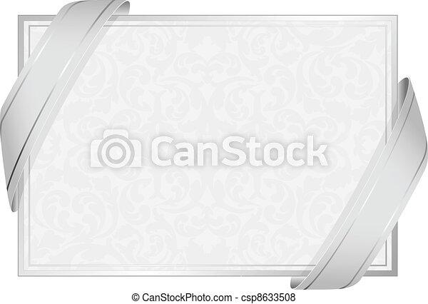 Weißer Hintergrund - csp8633508