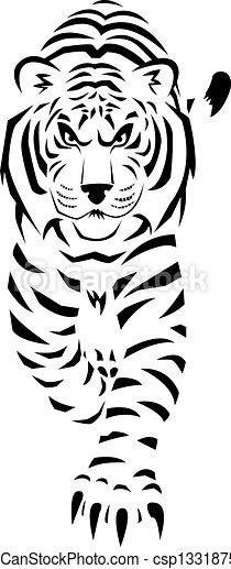 Weißer Tiger - csp13318758