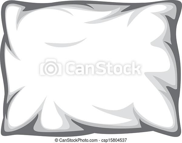 Weißes Kissen - csp15804537