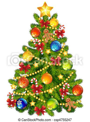 Weihnachtsbaum - csp4755247