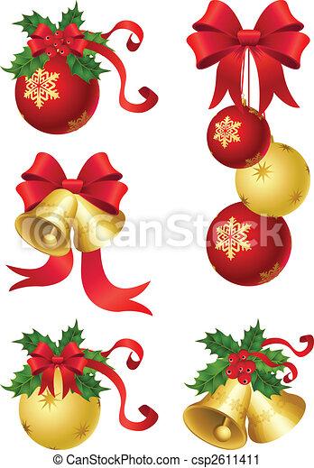 Weihnachtsdeko - csp2611411