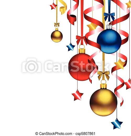 Weihnachtsgeschichte - csp5807861