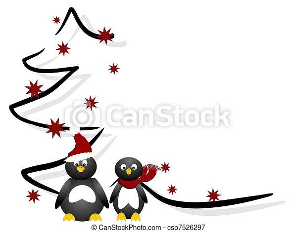Weihnachtskarte - csp7526297