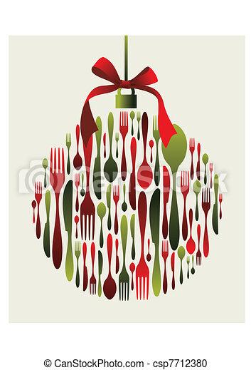 Weihnachtsschmaus - csp7712380