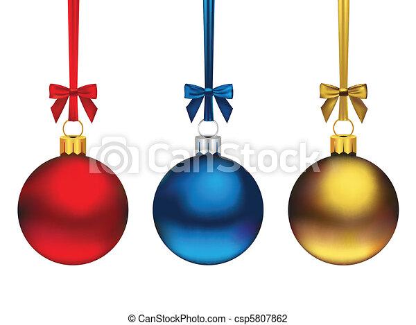 Weihnachtsschmuck - csp5807862