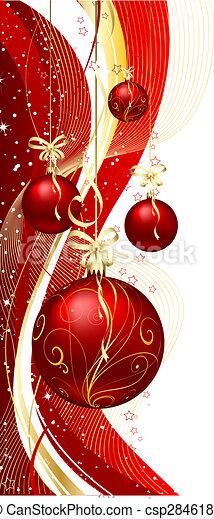 Weihnachtsschmuck. - csp2846189