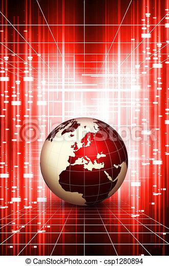 Weltweite Aktion - csp1280894