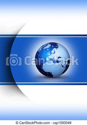 Weltweites Designkonzept - csp1593049