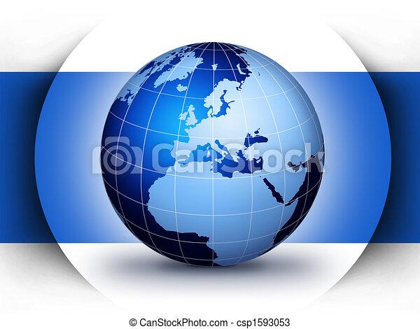 Weltweites Designkonzept - csp1593053
