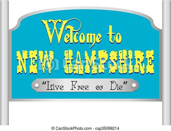 Willkommen auf dem neuen Hanf-Schild. - csp35099214