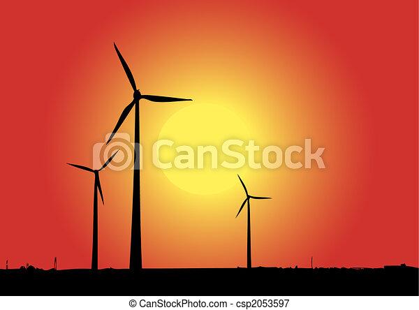 Windenergie - csp2053597