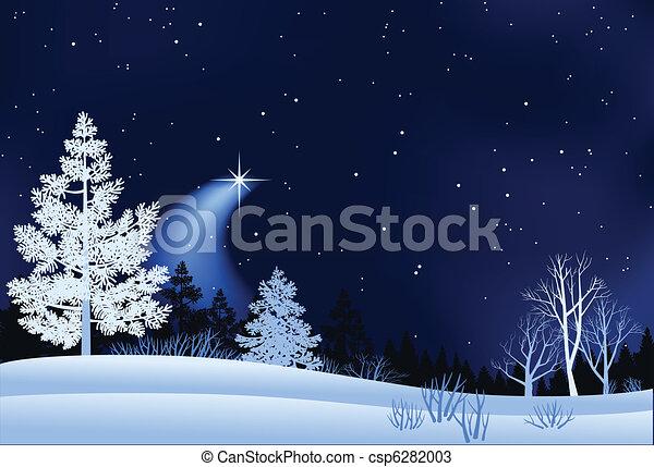 Winterland-Illustration - csp6282003