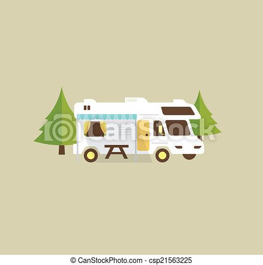 Wohnmobil. - csp21563225