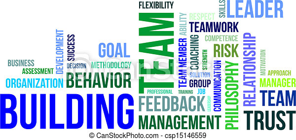 Wortwolke - Teambildung - csp15146559