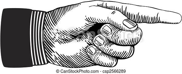 Zeige Hand - csp2566289