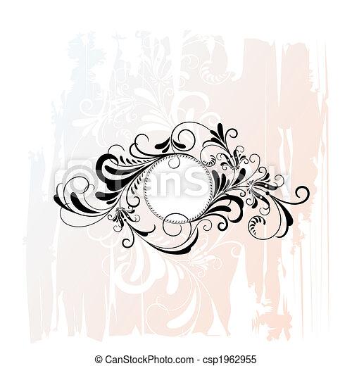 Zirkelnde Blumenschmuck - csp1962955