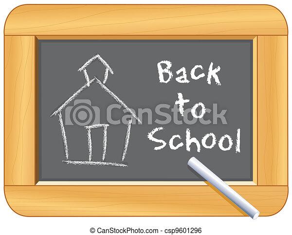 Zurück zur Schule - csp9601296